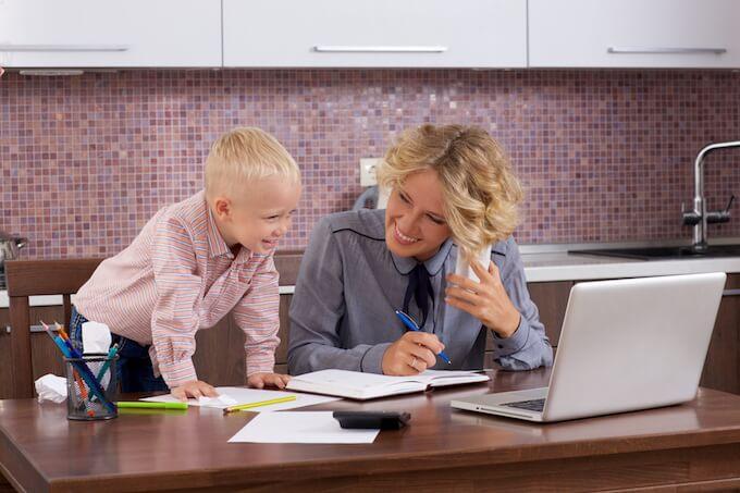 子供とワーキングマザー