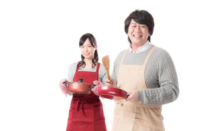 料理好きな夫婦