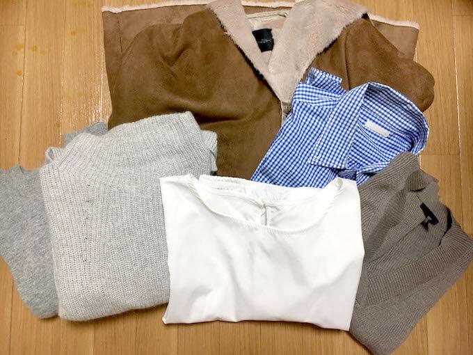 クリーニング衣類