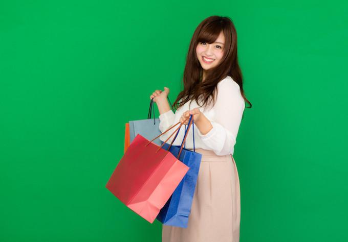 買い物の女性
